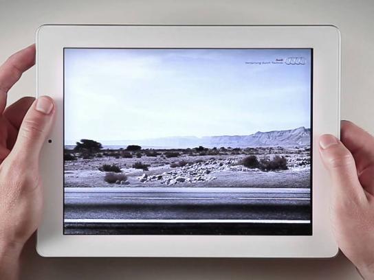 Audi Ambient Ad -  Screenshot