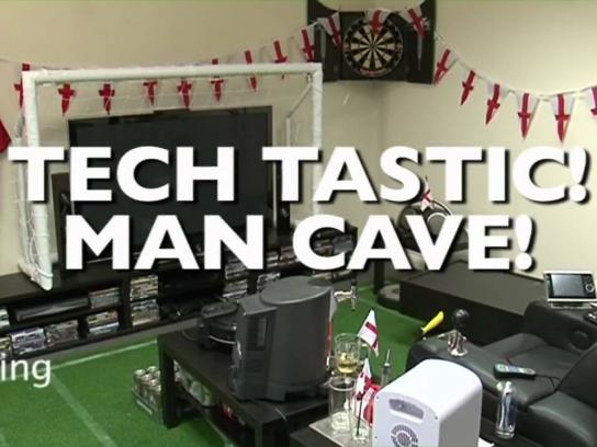Best Buy Film Ad -  Ultimate Football Man Cave