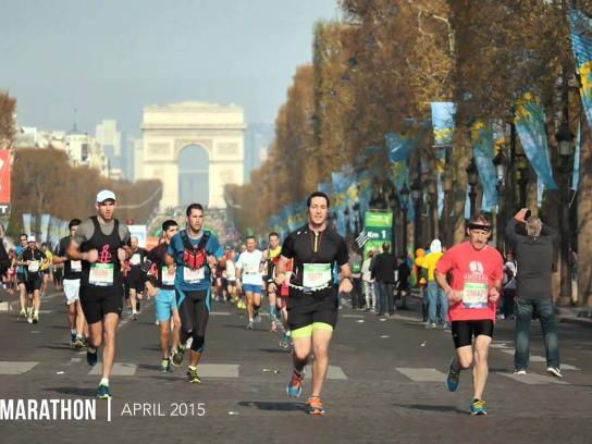 Water for Africa Digital Ad -  Marathon walker