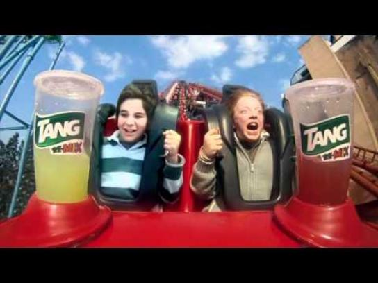 Tang Ambient Ad -  Shaker Roller Coaster