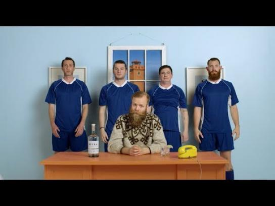 Reyka Film Ad - Portland and Iceland on Football