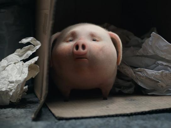 Santander Film Ad - Piggy