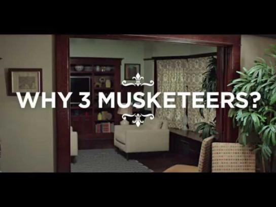 Three Musketeers Film Ad -  Mirror