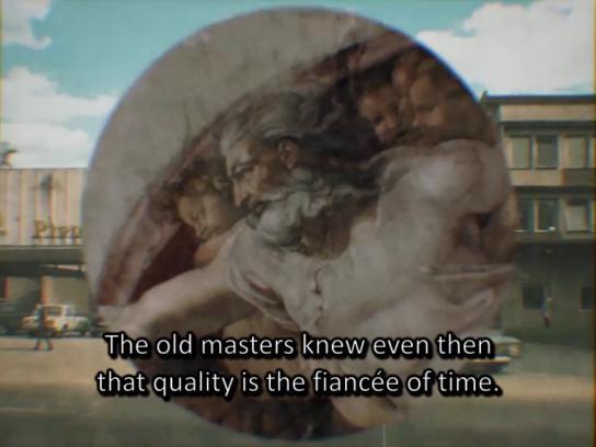Zlaty Bazant Film Ad - Rome