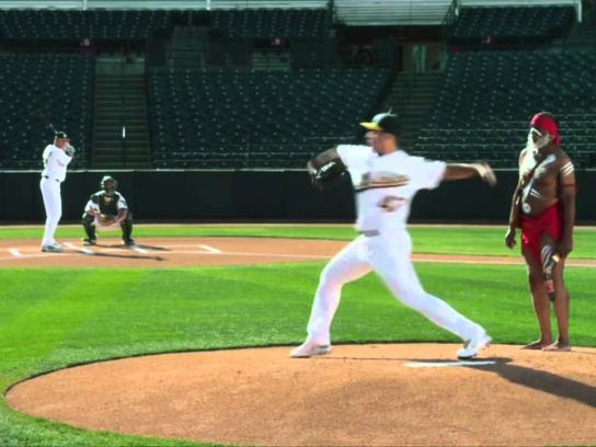 Oakland A's Film Ad -  Curve Ball