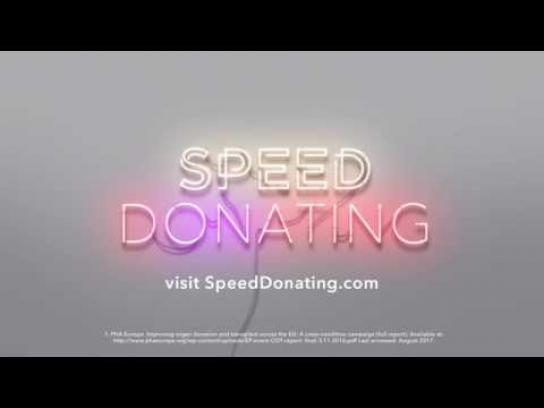 Speed Donating