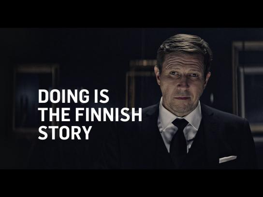 Finnish National Gallery Film Ad -  Doing is the Finnish story