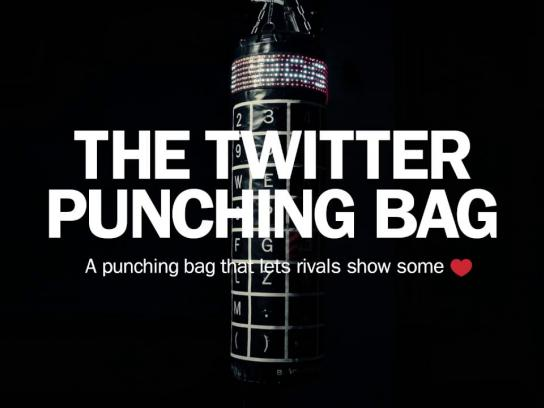 Björn Borg Experiential Ad - The Twitter punching bag