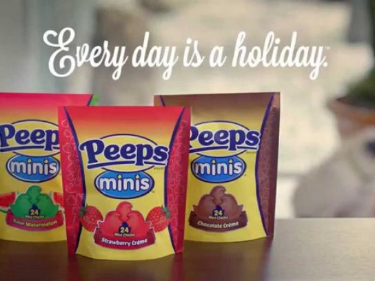 Peeps Film Ad -  Take Your Pants for a Walk Day