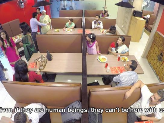 Robi Experiential Ad - Social Experiment -  Restaurant