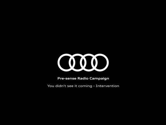 Audi Audio Ad - Intervention