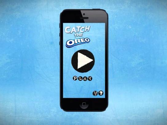 Oreo Digital Ad -  Catch the Oreo