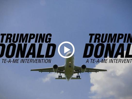 TE-A-ME Digital Ad - Tea for Trump