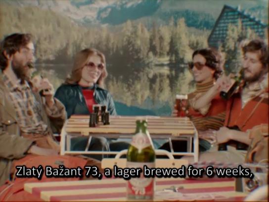 Zlaty Bazant Film Ad - Pride