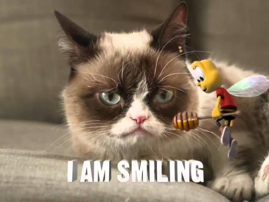 Cheerios Film Ad -  Grumpy Cat