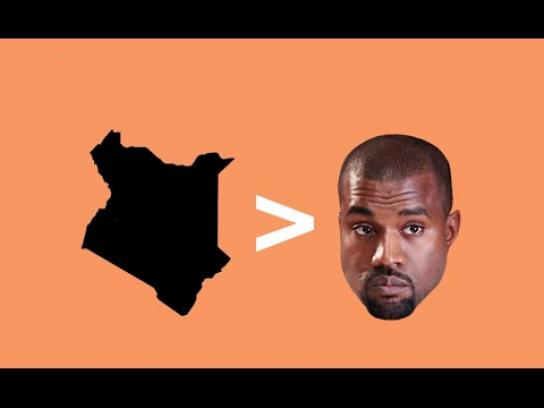Crowdrise Digital Ad - Help Kenya not Kanye