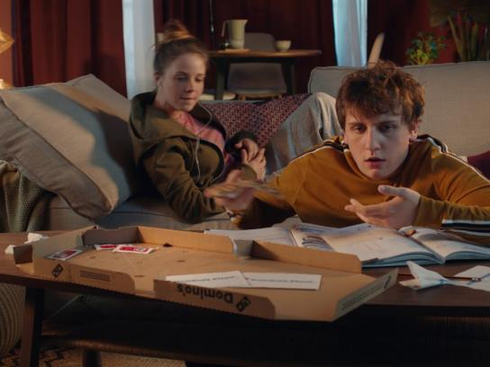 Domino's Film Ad - Little Blackmails - Brother & Sister