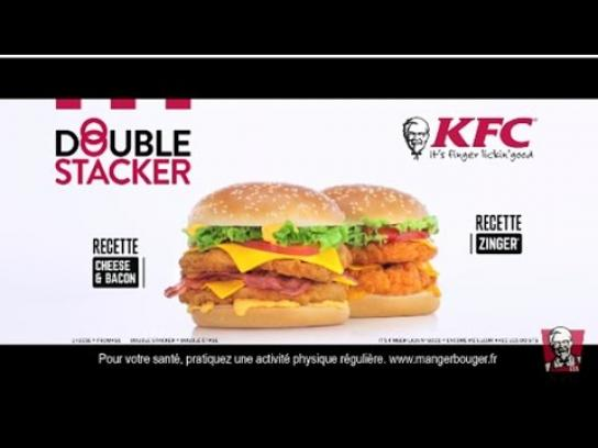 KFC Integrated Ad - Double Stacker