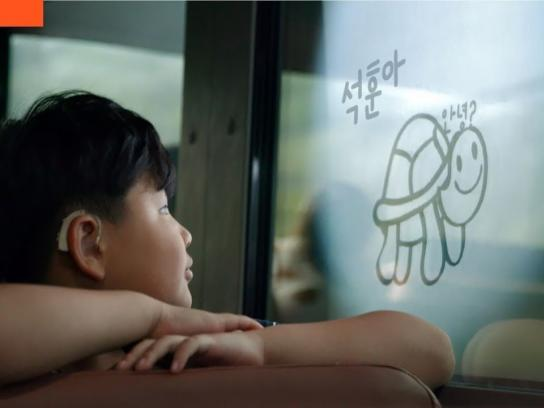 Hyundai Motor Group Experiential Ad - Chatty School Bus