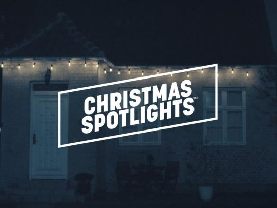 Danish Neighborhood Watch Film Ad - Christmas spotlights