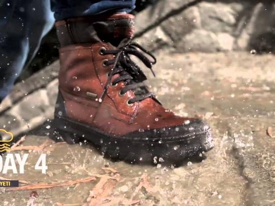 GEOX Digital Ad -  One Man For 7 Days In Nonstop Rain, 1