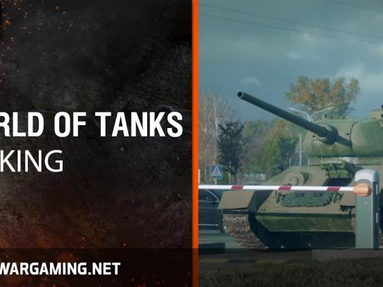 World of Tanks Film Ad - Parking Lot