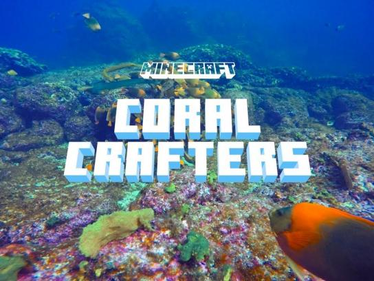 Minecraft Digital Ad - Coral Crafters