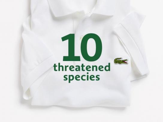 Lacoste Film Ad - Save Our Species