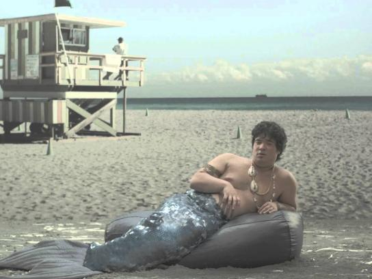 MTV Film Ad -  #USEITDICK, Male Mermaid