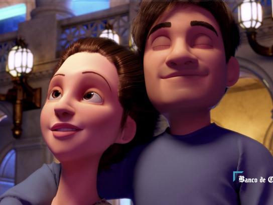 Banco de Chile Film Ad - A light of hope
