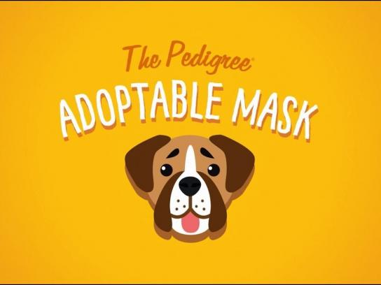 Pedigree Digital Ad - Introducing the PEDIGREE Adoptable Facebook Mask