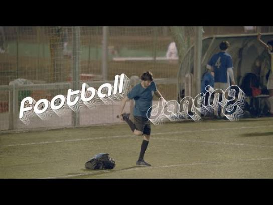 Líbero Film Ad -  Dancing Football - Cumbia dance