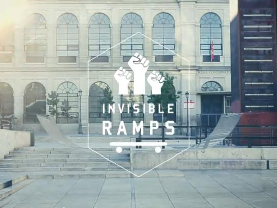 Nomad Outdoor Ad -  Invisible Ramps