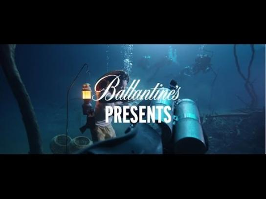 Ballantine's Digital Ad -  Ballantine's presents - Benjamin Von Wong's Underwater River