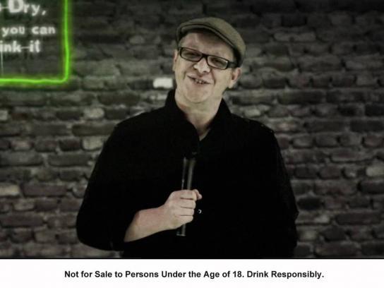 Savanna Cider Digital Ad -  Dead Funny, Meet Martin Evans