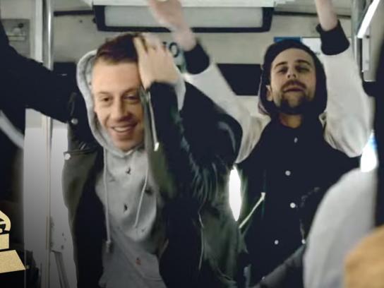 Grammy Film Ad -  Macklemore + Ryan Lewis Unleash NYC