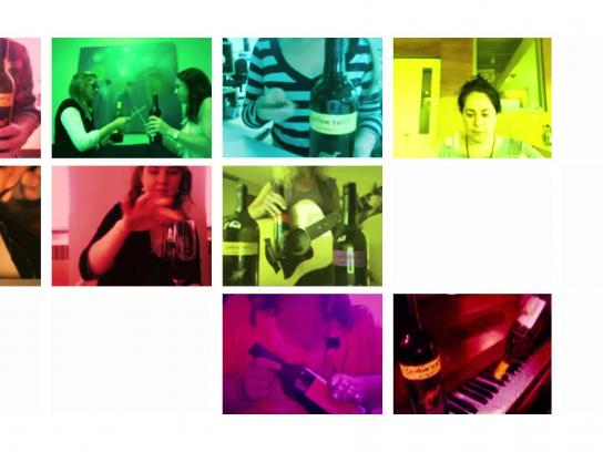 Yellow Tail Film Ad -  Kutiman's Wine Orchestra