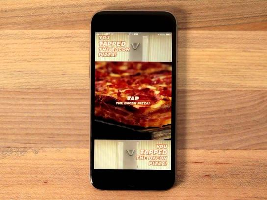 Little Caesars Digital Ad -  Tap the Bacon Pizza