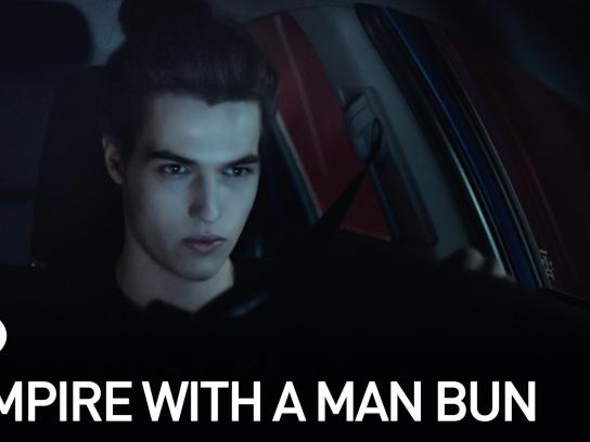 Scion Film Ad -  Vampire with a man bun