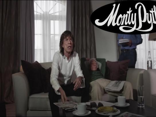 Monty Python Digital Ad -  Mick Jagger