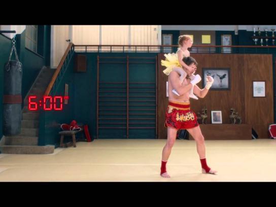 Société Générale Film Ad -  Thai boxing