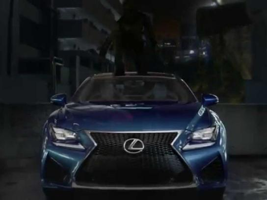 Lexus Film Ad -  Amazing in Motion, Strobe