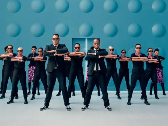 Air New Zealand Digital Ad -  Men In Black Safety