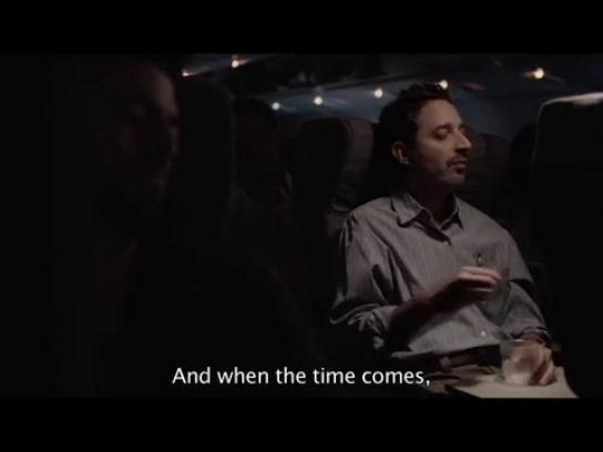 Aerolineas Argentinas Film Ad -  Night Flight