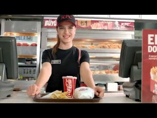 KFC Film Ad -  Rain coat student style