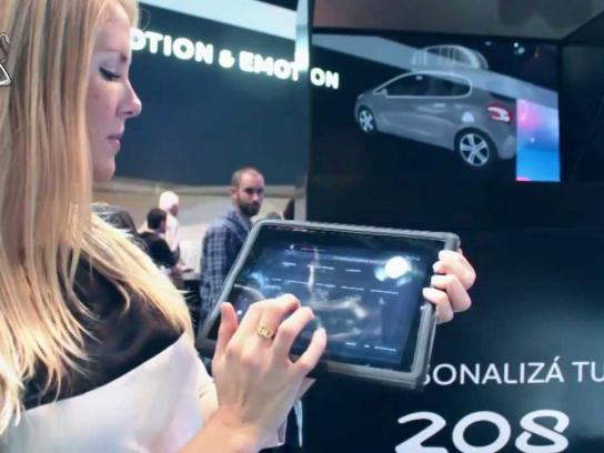 Peugeot Ambient Ad -  Holotransform