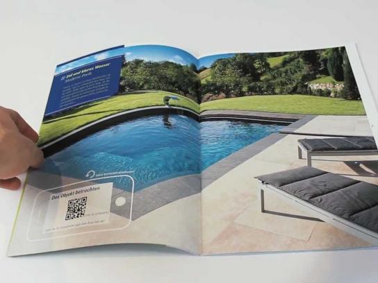 Poolgarden Digital Ad -  The interactive brochure