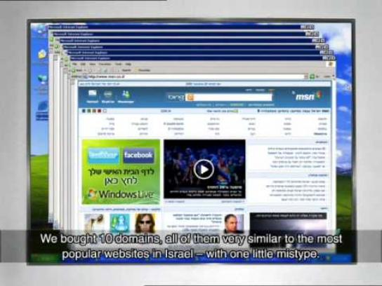 Opticana Digital Ad -  Mistyped domains