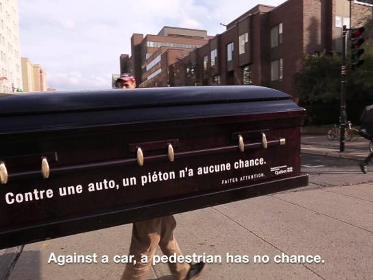 SAAQ Ambient Ad -  Coffin