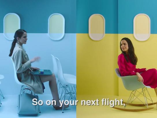 Air France Film Ad - Take a Chance or Fly Air France